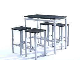 hauteur table haute cuisine table de chevet haute table ronde cuisine alinea table haute cuisine