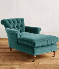 Velvet Chaise Lounge Teal Velvet Gwinnette Chaise Lounge Everything Turquoise