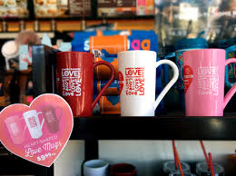 heart shaped mugs dunkin donuts heart shaped mugs