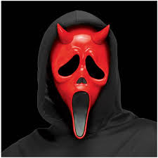 devil mask for halloween scream devil ghostface mask mad about horror