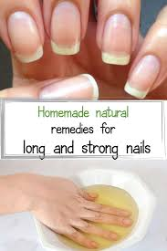 the best natural home remedies for nail growth u2013 with their help