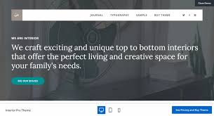 Interior Themes by 20 Best Wordpress Themes For Interior Designers 2017