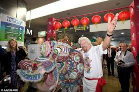 sir richard branson launches flights to hong kong daily mail online