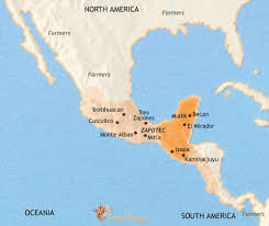 mexico in the world map map of mexico and central america at 30bc timemaps
