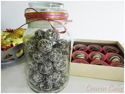 cravin cake festive rum balls