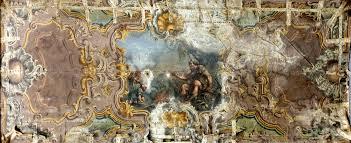 soffitti dipinti sono disponibili 2 soffitti dipinti olio su tela da restaurare