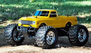 nitro rc monster truck for sale 1972 chevy c10 redcat volcano s30 4x4 1 10th 40 mph nitro rc monster