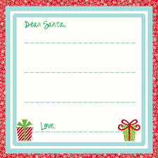 100 letter to santa template printable musely free