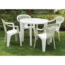 Composite Patio Table Pretty White Garden Chairs Plastic Cheap Composite Furniture