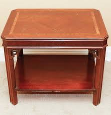 lane furniture chinese chippendale side table ebth