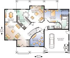 floor plans florida house plan 64984 at familyhomeplans com