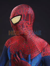 amazing spider man 3d original movie spider man costume