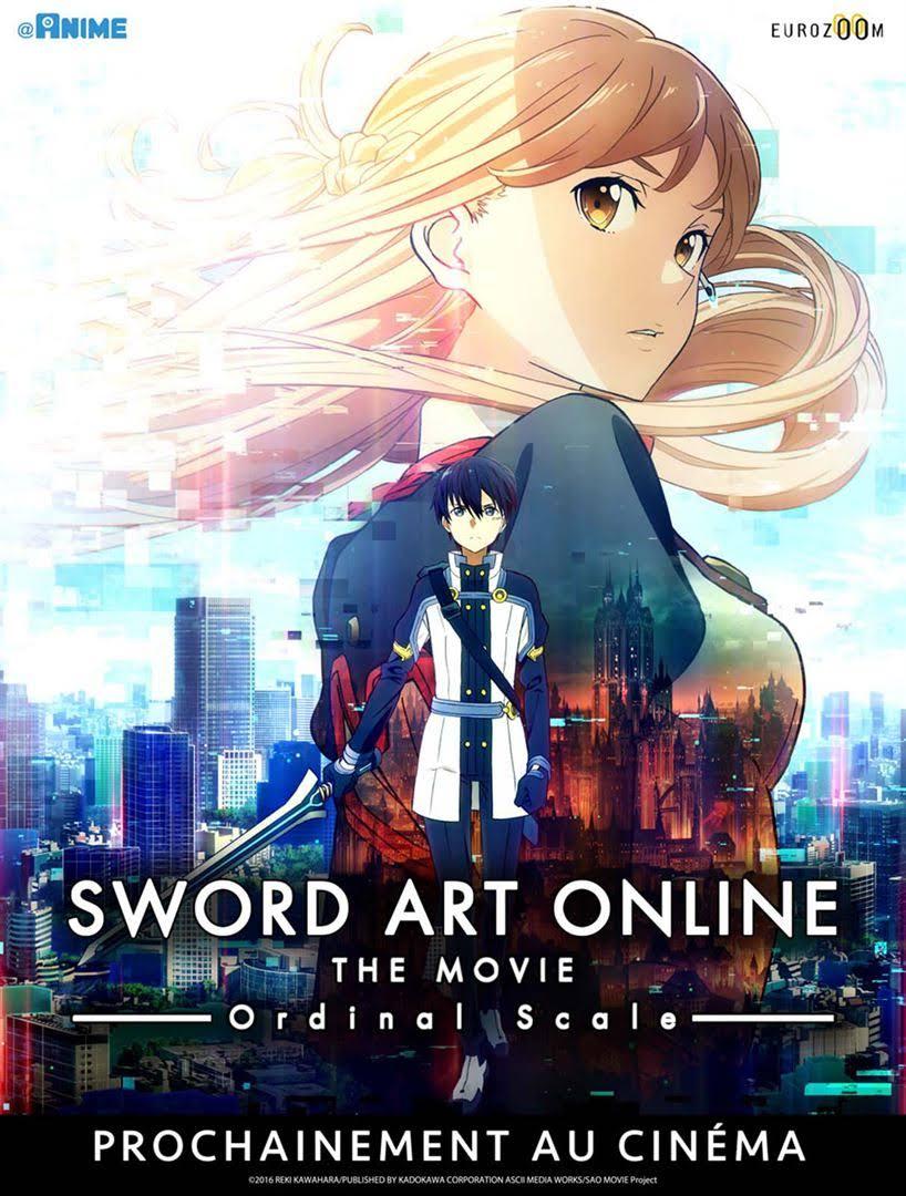 Sword Art Online  : Ordinal Scale au Cinéma en France à partir du 17 mai 2017