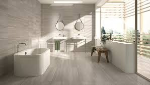 Bathroom Tile Modern Bathroom Tile Idea Use Large Tiles On The Floor And Walls 18