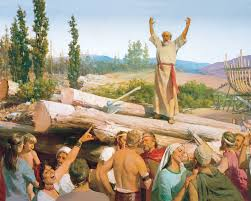 lds org primary manual building the ark noah u0027s preaching scorned
