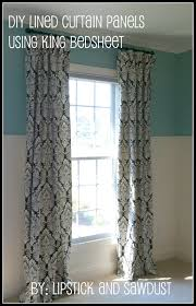 Make Curtains Out Of Sheets 28 Diy Curtains From Sheets Tutorial Diy Curtains From A