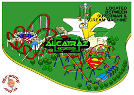 Six Flags Nj Directions Alcatraz The Ride At Six Flags Great Adventure