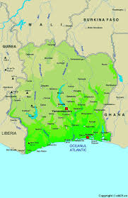 map of abidjan cote d ivoire map travelsfinders