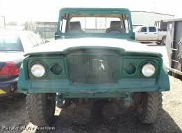 jeep kaiser lifted 1968 kaiser jeep pickup truck item l7343 sold december