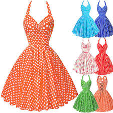 vintage 1950s 60s housewife retro pinup swing prom evening