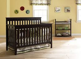 Graco Crib With Changing Table Useful Convertible Crib With Changing Table For Baby
