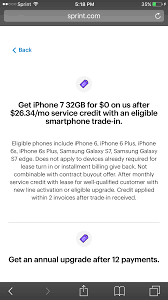 carrier iphone 7 7 sprint pre order thread page 236