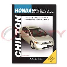 honda civic chilton repair manual hx mugen si dx lx hybrid gx