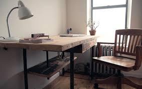 Natural Wood Computer Desk 33 Stunning Reclaimed Wood Desks