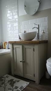 Wooden Vanity Units For Bathroom Chunky Rustic Painted Bathroom Sink Vanity Unit Wood Shabby Chic