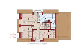 prezentare produs plan de situatie casa pe zidarie din bca