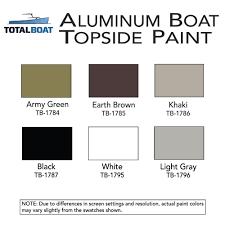 totalboat aluminum boat topside paint