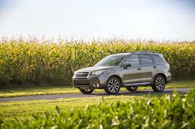 yellow subaru wagon 2017 subaru forester reviews and rating motor trend