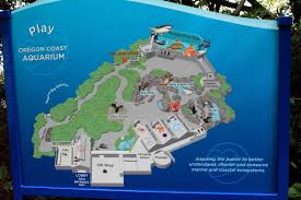 Map Oregon Coast by Green Bee Reviews Oregon Coast Aquarium
