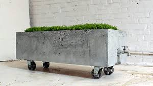 12 indoor outdoor concrete furniture pieces for urban flair