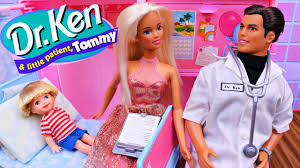 barbie hospital doctor ken u0026 patient tommy doll dr ken