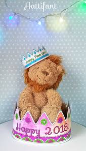 new year u0027s eve party crowns papercraft hattifant