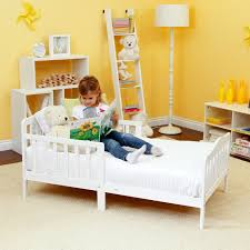 Toddler Bed White The Orbelle Contemporary Solid Wood Toddler Bed White Walmart Com