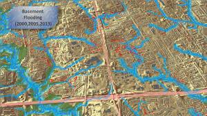 100 Year Floodplain Map Cityfloodmap Com City Of Toronto Overland Flow Map 100 Year