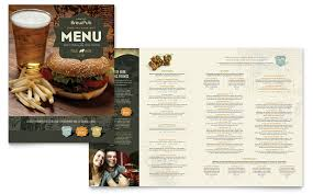 menu publisher template menu templates indesign illustrator publisher word pages