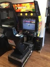 sit down arcade cabinet sega crazy taxi sit down arcade original cabinet ebay