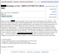 Craigslist Resumes Job Wanted rock hill u0027s finest is seeking employment only in rock hill