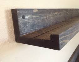 Narrow Picture Ledge Picture Ledge Shelf Etsy