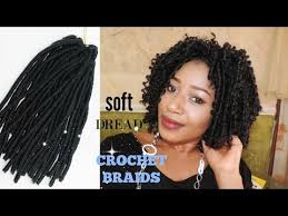pictures of soft dred crotchet hairstyles soft dread crochet braids start to finish youtube