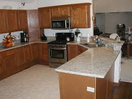 granite countertop under cabinet kitchen light herringbone