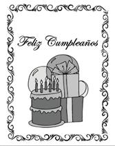 free printable spanish greeting cards feliz cumplea os happy birthday