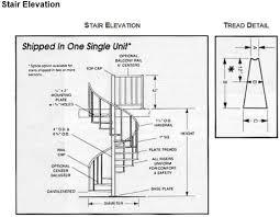 spiral staircase dimensions spiral stair designs stairways inc