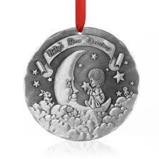 christmas ornaments for baby baby s 1st christmas ornament wendell august