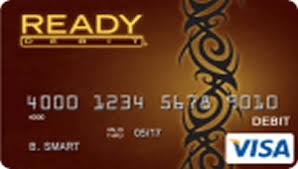 ready prepaid card readydebit visa latte prepaid card