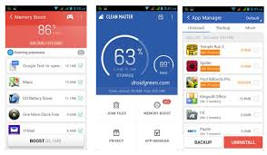 clean master apk clean master free apk best ram cleaner apps for android device