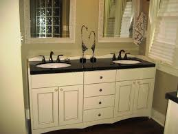bathroom cabinetry ideas great semi custom bathroom cabinets with white color and black